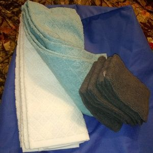 Target brand hand towels and washcloths